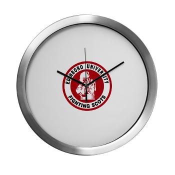 EUP - M01 - 03 - SSI - ROTC - Edinboro University of Pennsylvania - Modern Wall Clock