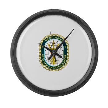 EUSCGDOPSGP - M01 - 03 - EMBLEM - USCG - DEPLOYABLE OPS GP - Large Wall Clock