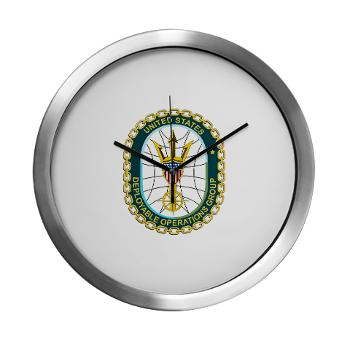EUSCGDOPSGP - M01 - 03 - EMBLEM - USCG - DEPLOYABLE OPS GP - Modern Wall Clock