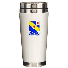 FC52IR - M01 - 03 - DUI - F Company - 52nd Infantry Regiment Ceramic Travel Mug