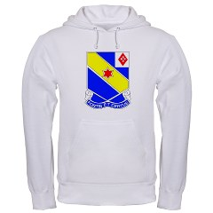 FC52IR - A01 - 03 - DUI - F Company - 52nd Infantry Regiment Hooded Sweatshirt