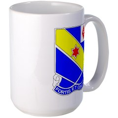 FC52IR - M01 - 03 - DUI - F Company - 52nd Infantry Regiment Large Mug