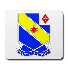FC52IR - M01 - 03 - DUI - F Company - 52nd Infantry Regiment Mousepad