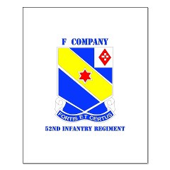 FC52IR - M01 - 02 - DUI - F Company - 52nd Infantry Regiment Small Poster