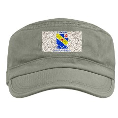 FC52IR - A01 - 01 - DUI - F Company - 52nd Infantry Regiment with text Military Cap
