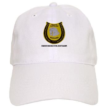 "FRB - A01 - 01 - DUI - Fresno Recruiting Battalion ""Mustangs"" with Text - Cap"
