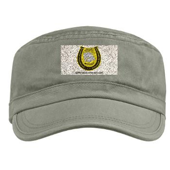 "FRB - A01 - 01 - DUI - Fresno Recruiting Battalion ""Mustangs"" with Text - Military Cap"