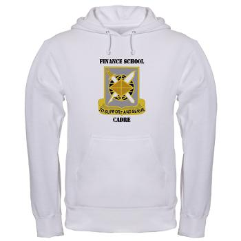 FSC - A01 - 03 - DUI - Finance School Cadre with Text Hooded Sweatshirt