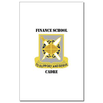 FSC - M01 - 02 - DUI - Finance School Cadre with Text Mini Poster Print