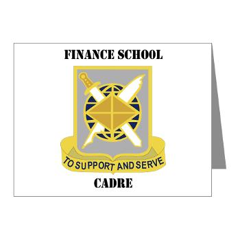 FSC - M01 - 02 - DUI - Finance School Cadre with Text Note Cards (Pk of 20)