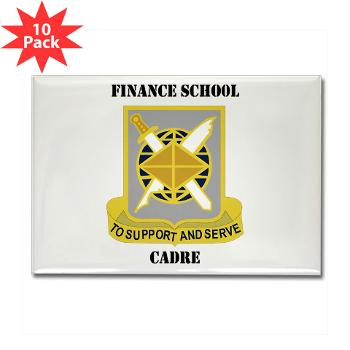 FSC - M01 - 01 - DUI - Finance School Cadre with Text Rectangle Magnet (10 pack)