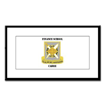 FSC - M01 - 02 - DUI - Finance School Cadre with Text Small Framed Print