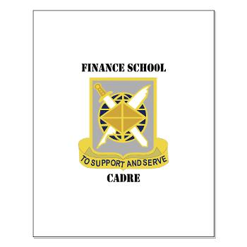 FSC - M01 - 02 - DUI - Finance School Cadre with Text Small Poster