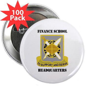 "FSH - M01 - 01 - DUI - Finance School Headquarters with Text - 2.25"" Button (100 pack)"