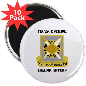 FSH - M01 - 01 - DUI - Finance School Headquarters with Text - 2.25 Magnet (10 pack)