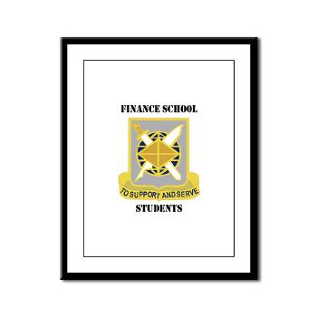 FSS - M01 - 02 - DUI - Finance School Students with Text - Framed Panel Print
