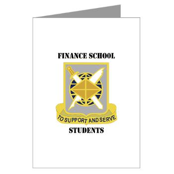 FSS - M01 - 02 - DUI - Finance School Students with Text - Greeting Cards (Pk of 20)