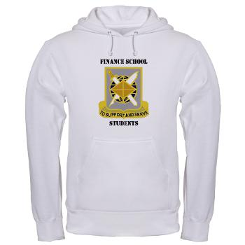 FSS - A01 - 03 - DUI - Finance School Students with Text - Hooded Sweatshirt
