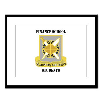 FSS - M01 - 02 - DUI - Finance School Students with Text - Large Framed Print