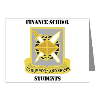FSS - M01 - 02 - DUI - Finance School Students with Text - Note Cards (Pk of 20)