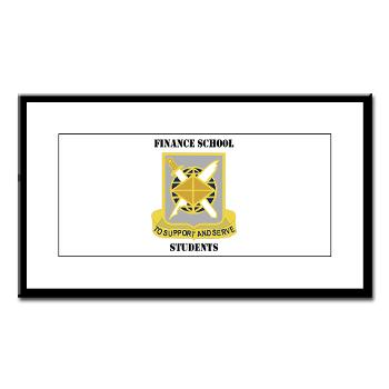 FSS - M01 - 02 - DUI - Finance School Students with Text - Small Framed Print