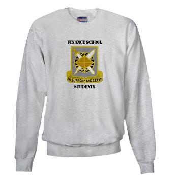 FSS - A01 - 03 - DUI - Finance School Students with Text - Sweatshirt