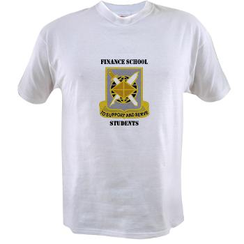 FSS - A01 - 04 - DUI - Finance School Students with Text - Value T-Shirt