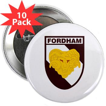 "FU - M01 - 01 - SSI - ROTC - Fordham University - 2.25"" Button (10 pack)"