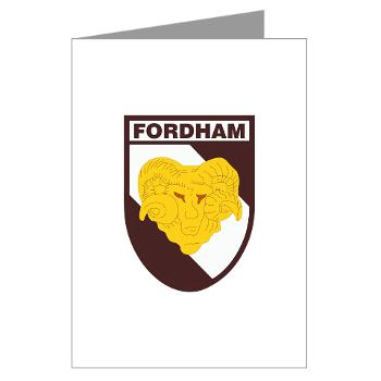FU - M01 - 02 - SSI - ROTC - Fordham University - Greeting Cards (Pk of 10)