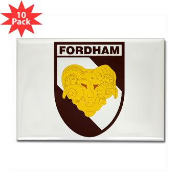 FU - M01 - 01 - SSI - ROTC - Fordham University - Rectangle Magnet (10 pack)