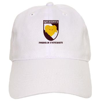 FU - A01 - 01 - SSI - ROTC - Fordham University with Text - Cap