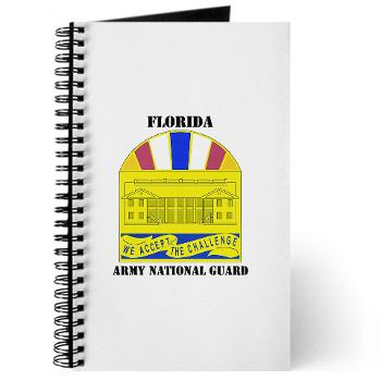 FloridaARNG - M01 - 02 - DUI - FLORIDA Army National Guard With Text - Journal