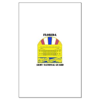 FloridaARNG - M01 - 02 - DUI - FLORIDA Army National Guard With Text - Large Poster