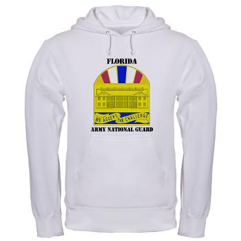 FloridaARNG - A01 - 03 - DUI - Florida Army National Guard With Text - Hooded Sweatshirt