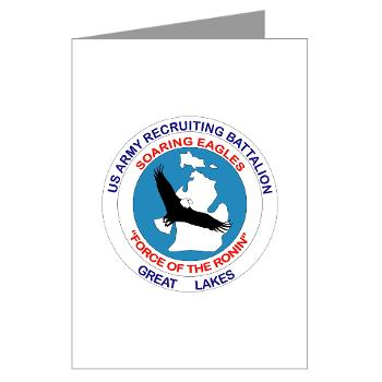 GLRB - M01 - 02 - DUI - Great lakes Recruiting Bn - Greeting Cards (Pk of 10)