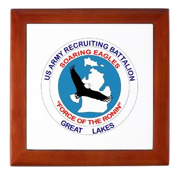 GLRB - M01 - 03 - DUI - Great lakes Recruiting Bn - Keepsake Box