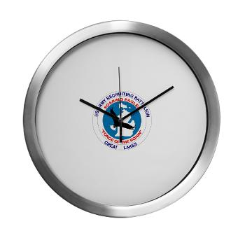 GLRB - M01 - 03 - DUI - Great lakes Recruiting Bn - Modern Wall Clock
