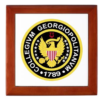 GU - M01 - 03 - SSI - ROTC - Georgetown University - Keepsake Box
