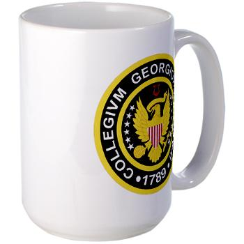 GU - M01 - 03 - SSI - ROTC - Georgetown University - Large Mug