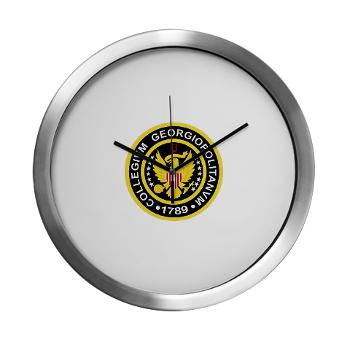 GU - M01 - 03 - SSI - ROTC - Georgetown University - Modern Wall Clock