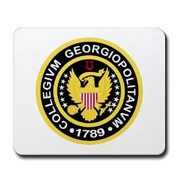 GU - M01 - 03 - SSI - ROTC - Georgetown University - Mousepad