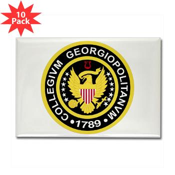 GU - M01 - 01 - SSI - ROTC - Georgetown University - Rectangle Magnet (10 pack)