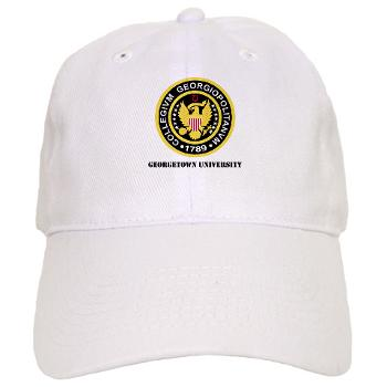 GU - A01 - 01 - SSI - ROTC - Georgetown University with Text - Cap