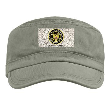 GU - A01 - 01 - SSI - ROTC - Georgetown University with Text - Military Cap