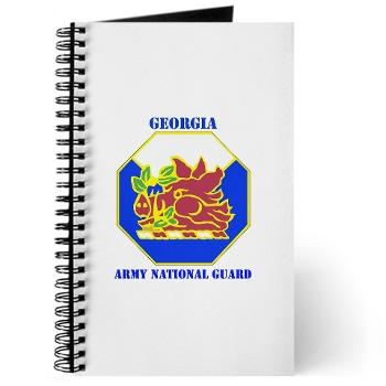 GeorgiaARNG - M01 - 02 - DUI - Georgia Army National Guard with text - Journal