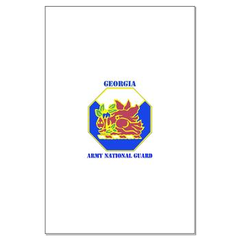 GeorgiaARNG - M01 - 02 - DUI - Georgia Army National Guard with text - Large Poster