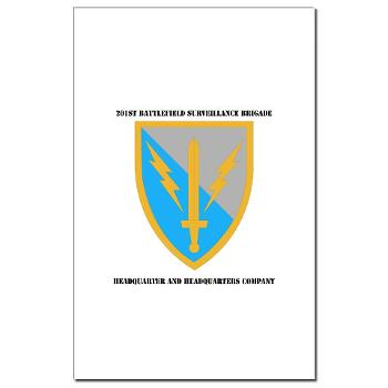HHC - A01 - 02 - DUI - Headquarter and Headquarters Coy with Text - Mini Poster Print