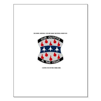 HHC120IB - M01 - 02 - HHC - 120th Infantry Brigade with Text - Small Poster
