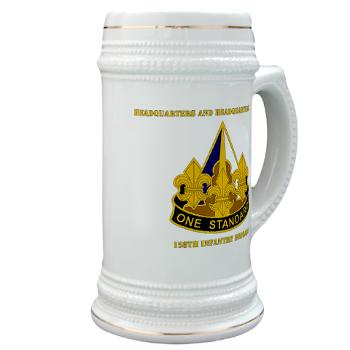 HHC158IB - M01 - 03 - HHC - 158th Infantry Brigade with Text - Stein