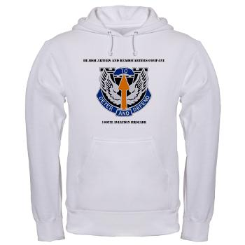 HHC166AB - A01 - 03 - HHC - 166th Aviation Brigade with Text - Hooded Sweatshirt